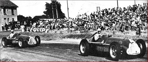 GP Francji, Reims 1950, Fagioli