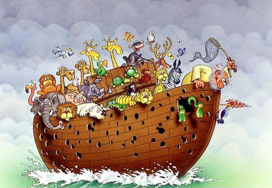 Everything I need to know about life, I learned from Noah's Ark....