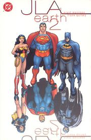 JLA:Earth 2 cover by Quitely.