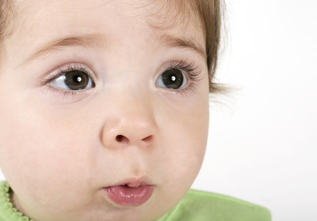 Modern baby names-baby blowing