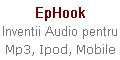 EpHook Ipod, Mp3, Mobiles Earphones Clip-on Invention, Hook Invention