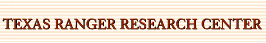 Texas Ranger Research Home Page Link