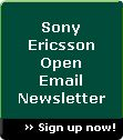 Sign up for Email Newsletter