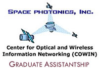Space Photonics Graduate Assistantship