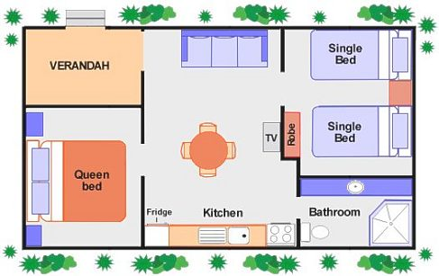 Typical Accommodation Plan