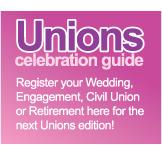 Unions celebration guide