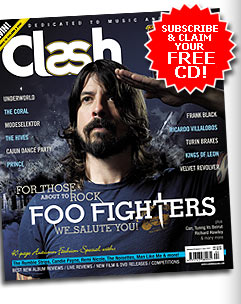 Clash Magazine featuring Foo Fighters