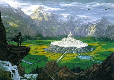 Gondolin by Ted Nasmith