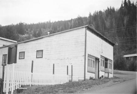 The old laundry building in Gold Bridge, BC Photo E. 'Andy' Cleven