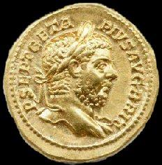 Publius on a bronze coin