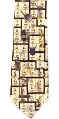 Periodic table tie