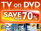 TV on DVD Save over 70%
