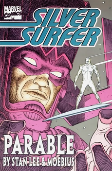 Cover for Silver Surfer: Parable.