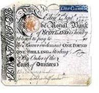 Royal Bank of Scotland One Guinea Note 1777