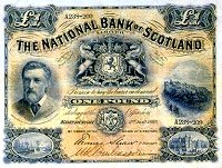 National Bank of Scotland £1 note 1893