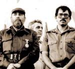 Daniel Ortega (right)
