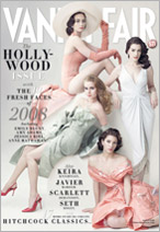 Vanity Fair cover, March 2008, Emily Blunt, Amy Adams, Jessica Biel, Anne Hathaway
