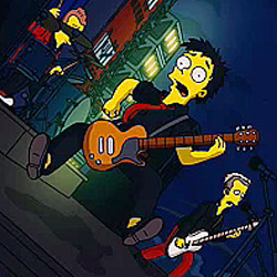 green day the simpsons Photo