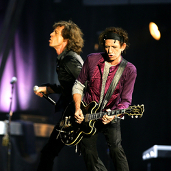 Rock List Keith and Mick Jagger Photo