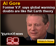 View the 60 MINUTES interview with Al Gore about global warming