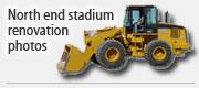 North end stadium renovations photos
