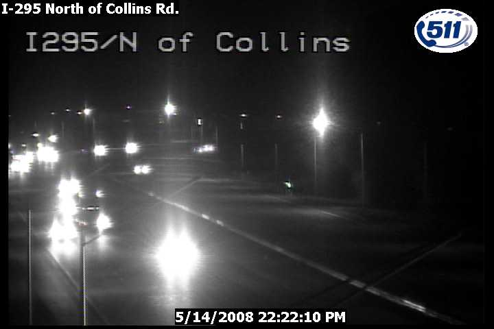 I-295 North of Collins Rd
