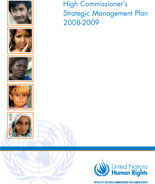 High Commissioner's Strategic Management Plan 2008-2009