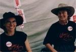 Stephanie Luke and Barbara Wiesner
