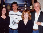 Beth Marshall,Mike Ladd, Verity Laughton and Peter McFarlane