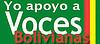 YO APOYO A VOCES BOLIVIANAS
