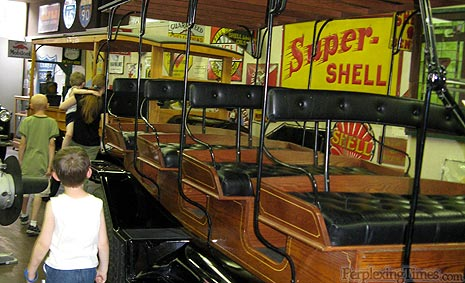 Modified Ford used as Antique School Bus