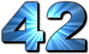 42 is the Answer to the Ultimate Question of Life, the Universe, and Everything