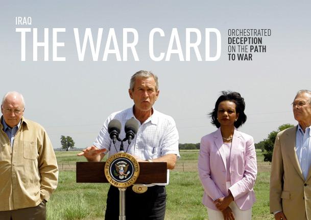 Iraq: The War Card