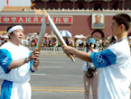 Olympic Torch Relay reaches Beijing