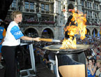 Olympic Torch Relay reaches Munich