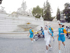 Olympic Torch Relay reaches Rome