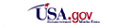 Usa.gov logo and link to usa.gov