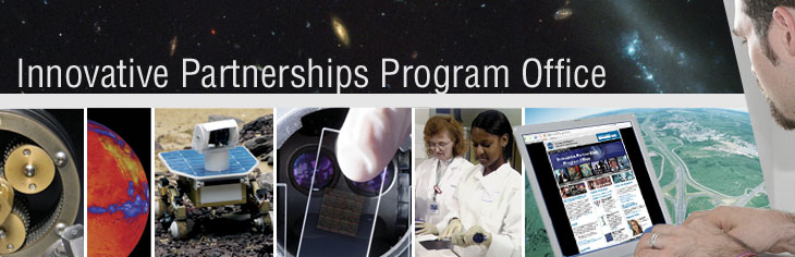 Innovative Partnerships Program (IPP) Office header