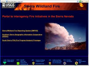 Sierra Wildland Fire Reporting Systems (SWFRS)