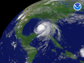 Hurricane Ike regional imagery, 2008.09.11 at 0845Z. Centerpoint Latitude: 25:08:23N Longitude: 88:11:27W.