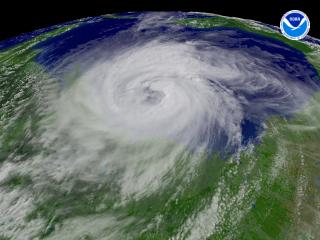Hurricane Ike regional imagery, 2008.09.12 at 2045Z. Centerpoint Latitude: 28:39:13N Longitude: 94:43:28W.