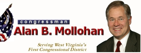 Congressman Alan B. Mollohan, Serving West Virginia's First District
