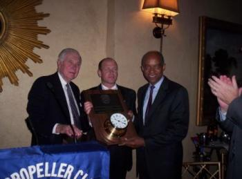 May 10, 2005 -- Congressman Jefferson Receives the Salute To Congress Award