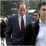 Spitzer Is Contrite, but Sometimes Still Angry