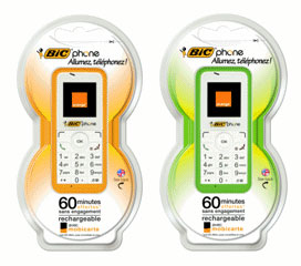 Le BIC Phone selon Orange