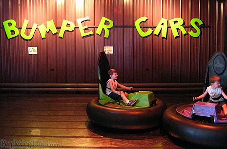 Bumper Cars at Qwivals Family Fun Center in Montana