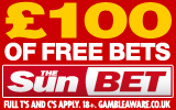 £100 free bets