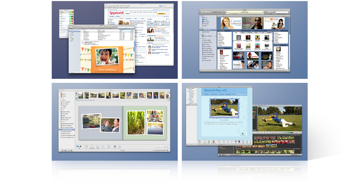 Desktop and Spaces Screenshot