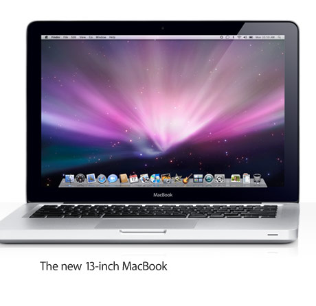 The new 13-inch MacBook.