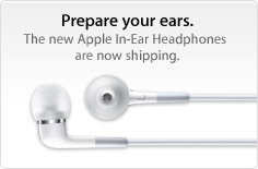 Prepare your ears. The new Apple In-Ear Headphones are now shipping.